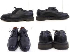 【ALDEN/オールデン】 UNITED ARROWS別注/ユナイテッドアローズ/レザーウイングチップ/革靴/シューズ/ビジネスシューズ/黒/ブラック/サイズ8Dの買取実績