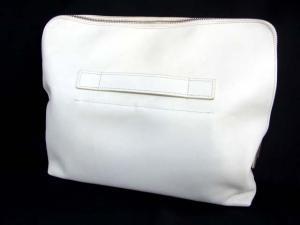 スリーワンフィリップリム 3.1 phillip lim レザー クラッチバッグ 白 ホワイト 鞄 セカンド ハンド 革 マルチウェイ 服飾 小物