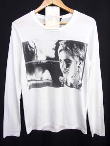 アンディウォーホル バイ ヒステリックグラマー ANDY WARHOL by HYSTERIC GLAMOUR 長袖 Tシャツ サイズS 白 ホワイト プリント トップス カットソー ロンTの買取実績