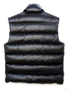 モンクレール MONCLER ダウン ベスト TIB ブラック 黒 1 上着 アウター 国内正規品の買取実績