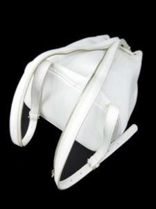 フレイアイディー FRAY I.D 14年 リュックサック ドロストバックパック 巾着 白 ホワイト フェイクレザー 人気商品 Aの買取実績