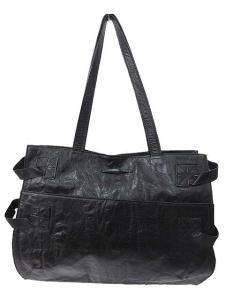 ジャンポールゴルチエ Jean Paul GAULTIER トートバッグ レザー ショルダー 無地 ブラック 黒 メンズの買取実績