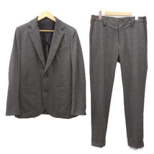 ウノピュウノウグァーレトレ 1PIU1UGUALE3 20SS CARREMAN TR STRETCH CHECK RIB スーツ ジャケット スラックス パンツ セットアップ チェックの買取実績