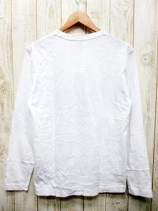 未使用品 【PAUL SMITH COLLECTION/ポールスミスコレクション】 長袖Tシャツ カットソー 国旗:フラッグプリント 白Lの買取実績