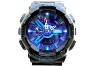 【G-SHOCK/ジーショック】 GA-110HC 腕時計 Hyper Colors ハイパーカラーズ 黒×紫 Gショック