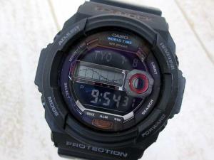 【G-SHOCK/ジーショック】 GLX-150 G-LIDE 腕時計 タイドグラフ搭載 デジタル 黒 ブラック