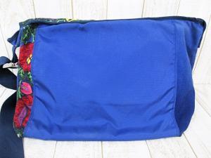 ボヘミアンズ BOHEMIANS ガーデン ショルダーバッグ メッセンジャー 花柄キャンバス×ナイロン 紺 ネイビーの買取実績