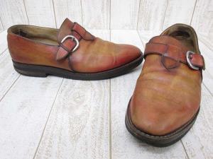 ベルルッティ Berluti レザー シューズ モンクストラップ 革靴 10 ブラウン 茶系の買取実績