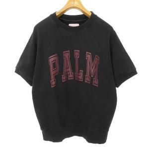 パームエンジェルス PALM ANGELS ロゴ オーバーサイズ スウェットTシャツの買取実績