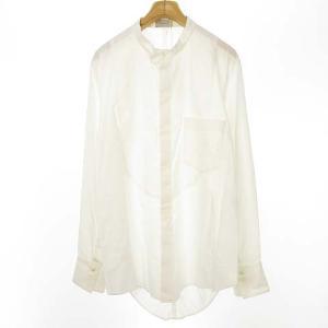 ベッドフォード BED J.W. FORD 20AW コットンシルクノーカラーシャツ ホワイトの買取実績