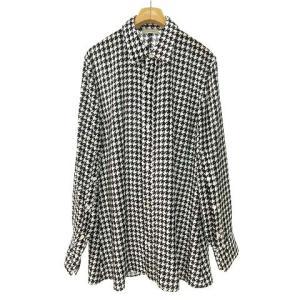 ベッドフォード BED J.W. FORD 20SS ベルベットベーシックシャツ 千鳥格子 ホワイト ブラックの買取実績