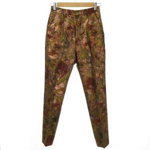 アキラナカ AKIRA NAKA 18AW Valentina pants フラワーパターンジャカードパンツ ブラウンの買取実績