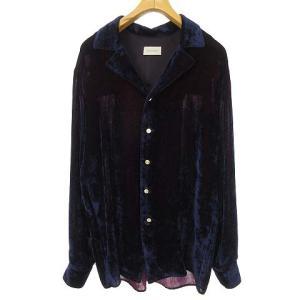 ベッドフォード BED J.W. FORD 19AW ベルベットオープンカラーシャツ パープルの買取実績
