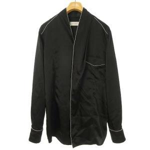 ベッドフォード BED J.W. FORD 19AW サテンノーカラーシャツ ブラックの買取実績