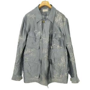 ベッドフォード BED J.W. FORD 20AW ジャカードシャツジャケット ブルゾン サックスの買取実績