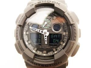 ジーショック G-SHOCK GA-100MB-1ACR ミリタリーブラック腕時計ウォッチ■の買取実績