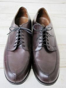 オールデン ALDEN Vチップ レザーシューズ モディファイドラスト C.D.L 革靴 ビジネス バーガンディ 茶系 10の買取実績