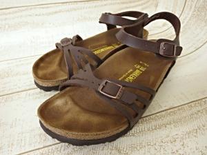 ビルケンシュトック BIRKENSTOCK バリ BALI サンダル 靴 くつ ブラウン 38 24.5?p 085063 箱付 レディースの買取実績