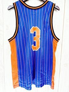 シュプリーム SUPREME ロゴ メッシュ タンクトップ ノースリーブ バスケットボール 青 ブルー オレンジ M ワングラム 袋付 メンズの買取実績