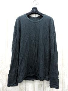 【ANN DEMEULEMEESTER/アンドゥムルメステール】 Tシャツ カットソー 長袖 クルーネック 緑系 XS 成2405