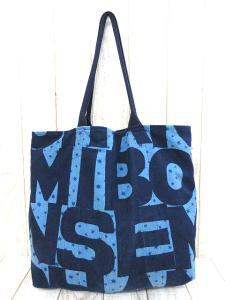 【BOHEMIANS/ボヘミアンズ】 CANVAS7 ショルダートートバッグ キャンバス ブルー×ネイビーの買取実績