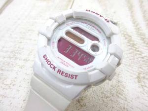 【Baby-G/ベビージー】 カシオ BGD-140-7BJF デジタル腕時計 白 ホワイト クォーツ