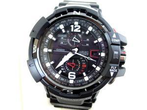 未使用品 ジーショック G-SHOCK カシオ スカイコックピット GW-A1100-1AJF 腕時計 アナログ ソーラー 黒の買取実績