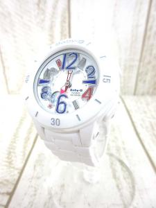 ベビージー Baby-G カシオ BGA-170-7B2JF 腕時計 アナログ Neon Marine Series ネオンマリンシリーズ 白 ※RR3313S