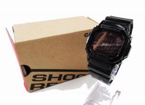 ジーショック G-SHOCK 美品 グロッシー 電波ソーラー 腕時計 黒 CASIO カシオ GW-M5610BB Grossy Black Seriesの買取実績
