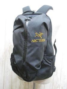 【ARC'TERYX/アークテリクス】 ARRO16アロー16 バックパック/リュックサック 黒;バッグ