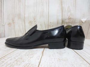 バルマン BALMAIN 本革 レザー シューズ ローファー 6.5EEE 黒 25cm 革靴 ビジネスの買取実績