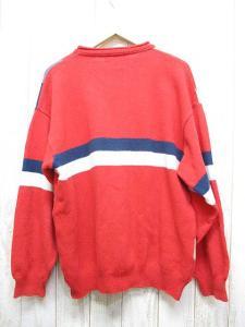 ジバンシィ GIVENCHY ボーダー風 長袖 ニット セーター 赤 クルーネック カットソー イタリー製の買取実績