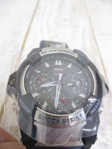 未使用品 カシオジーショック CASIO G-SHOCK GIEZ GS-1400-1AJF 腕時計 ソーラー 電波 ウォッチ 取扱説明書 箱 タグ付き メンズの買取実績