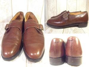 【Lloyd Footwear/ロイド フットウェア】 モンクストラップ レザー ドレス シューズ イングランド製の買取実績