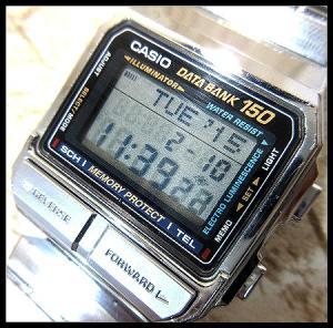 カシオデーターバンク CASIO DATABANK カシオ 腕時計の買取実績