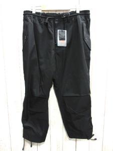 未使用品 ワイスリー Y-3 ヨウジヤマモト裾レースアップ九分丈ドローストリング スポーツ パンツ黒の買取実績