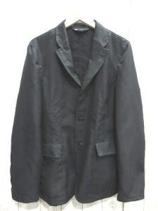 コムデギャルソンブラック COMME des GARCONS BLACK ポリ縮絨3Bシングル テーラード ジャケット黒ブラック AD2011の買取実績
