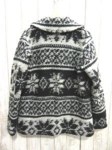 エンジニアードガーメンツ Engineered Garments 毛ウール ノルディック カウチン 2Bジャケット黒ブラックSの買取実績