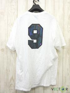 アンディフィーテッド UNDEFEATED ナチュラル コットン ALL GONE ロゴ プリントTシャツ白ホワイトLの買取実績