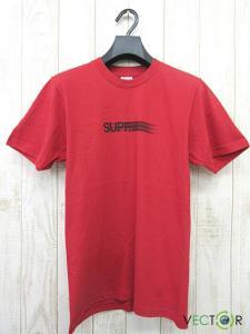 未使用品 シュプリーム SUPREME ☆AA★16SS Motion Logo Tee モーション ロゴ 半袖Tシャツ Red レッド 赤 S