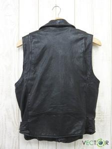ビューティフルピープル beautiful people レザー カットオフ ライダース ベスト ジャケット黒ブラック180の買取実績