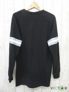アンディフィーテッド UNDEFEATED DOWN L/S JERSEY ダウン ロング スリーブ ジャージー Tシャツ黒ブラックLの買取実績