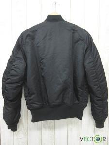 アルファ ALPHA アルファ インダストリーズ MA-1 フライトジャケット黒オレンジS 2000の買取実績