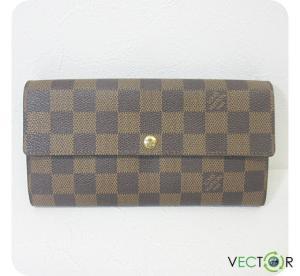 ルイヴィトン LOUIS VUITTON ダミエ ポルトフォイユ・サラ 長財布 N61734 小物の買取実績