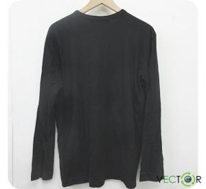 ブラックコムデギャルソン BLACK COMME des GARCONS ロゴ プリント長袖Tシャツ カットソー黒ブラックL メンズの買取実績