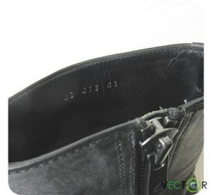 アタッチメント ATTACHMENT パラフィン加工ナッパネビアサイドZIPブーツ43黒ブラック サイドジップ靴 メンズの買取実績