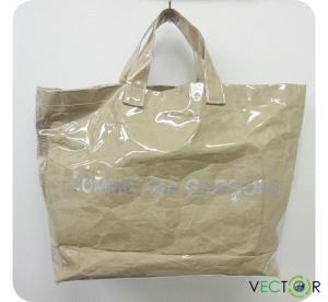 コムデギャルソン COMME des GARCONS 15SS SHOPPER TOTE BAG PVCトート バッグ ライトブラウン レディースの買取実績