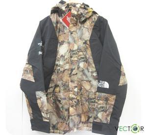 未使用品 シュプリーム SUPREME ☆AA★16AW The North Face Mountain Light Jacket Leaves S マウンテン ライト ジャケット メンズ