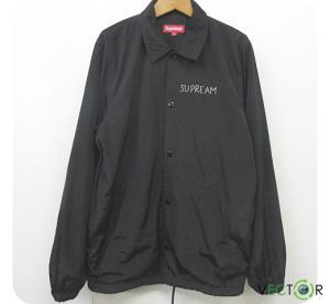 シュプリーム SUPREME ☆AA★13SS Schminx Coaches Jacket マークゴンザレス スフィンクス コーチジャケット黒ブラックS メンズの買取実績
