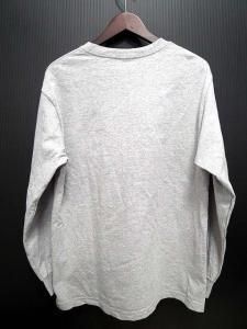ベドウィン BEDWIN ザ ハートブレイカーズ THE HEARTBREAKERS カットソー Tシャツ 長袖 ロゴプリント クルーネック グレー Mの買取実績